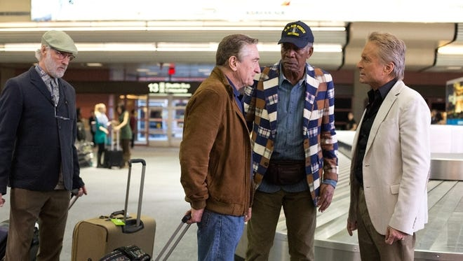 'Last Vegas' has plenty of acting firepower, but little spark.
