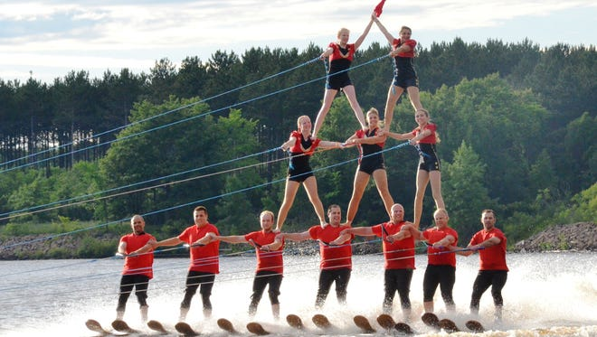 In its 19th season, the Central Wisconsin Water Walkers Water Ski Club has more than 50 members.