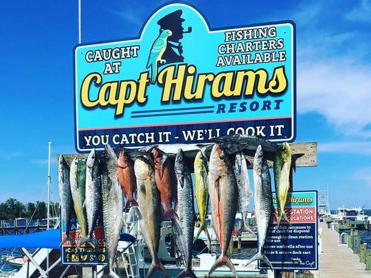 The annual Capt Hiram's River Challenge Triathlon is