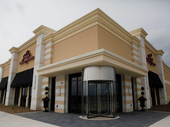 Johnny's Italian Steakhouse, at 550 Bass Pro Drive NW in Altoona pictured here on Thursday, June 19, 2014 is now open for business. The outdoor patio is still under construction and will open in July.