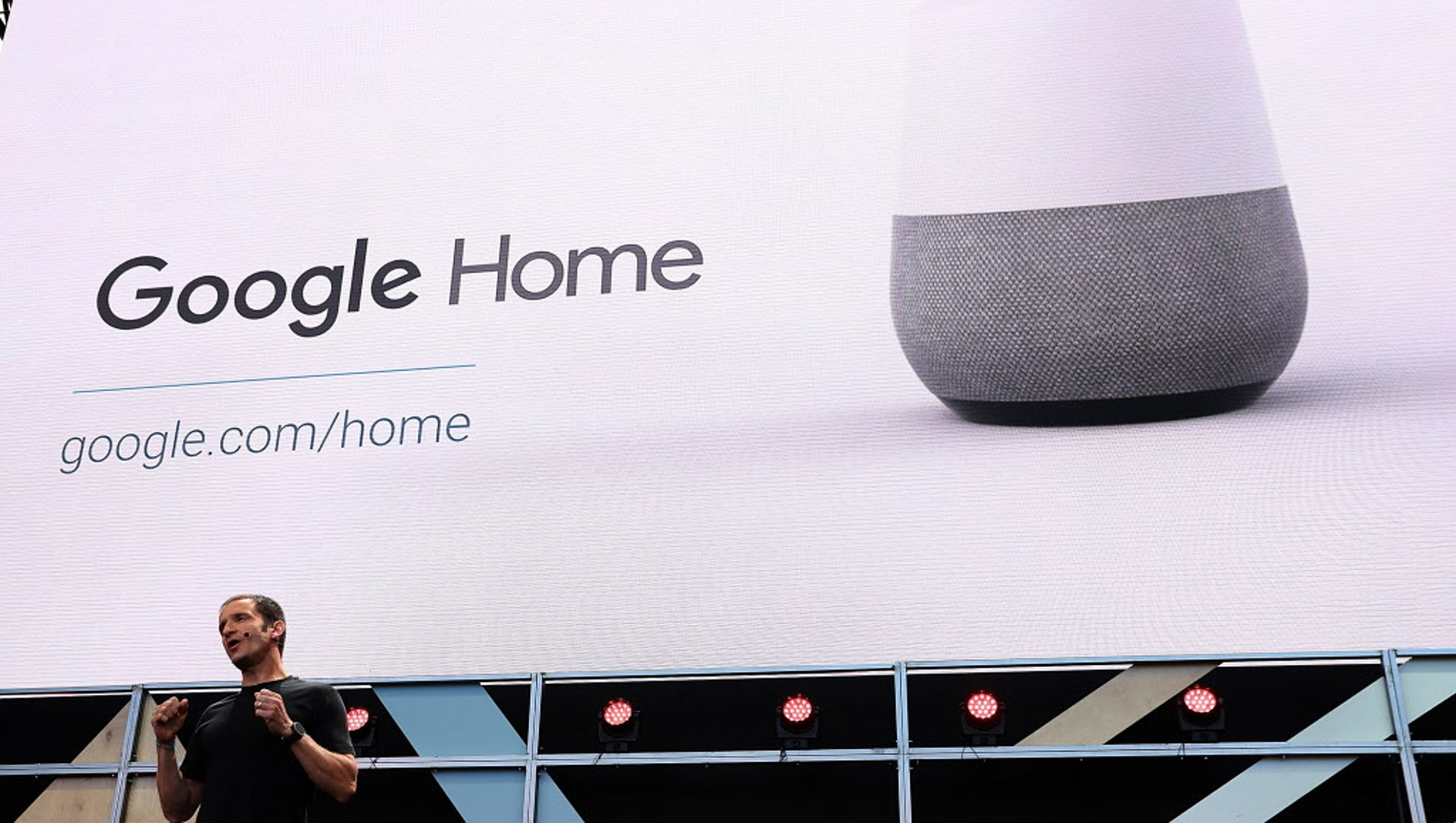 google home 39 s battle with amazon echo is about to heat up. Black Bedroom Furniture Sets. Home Design Ideas