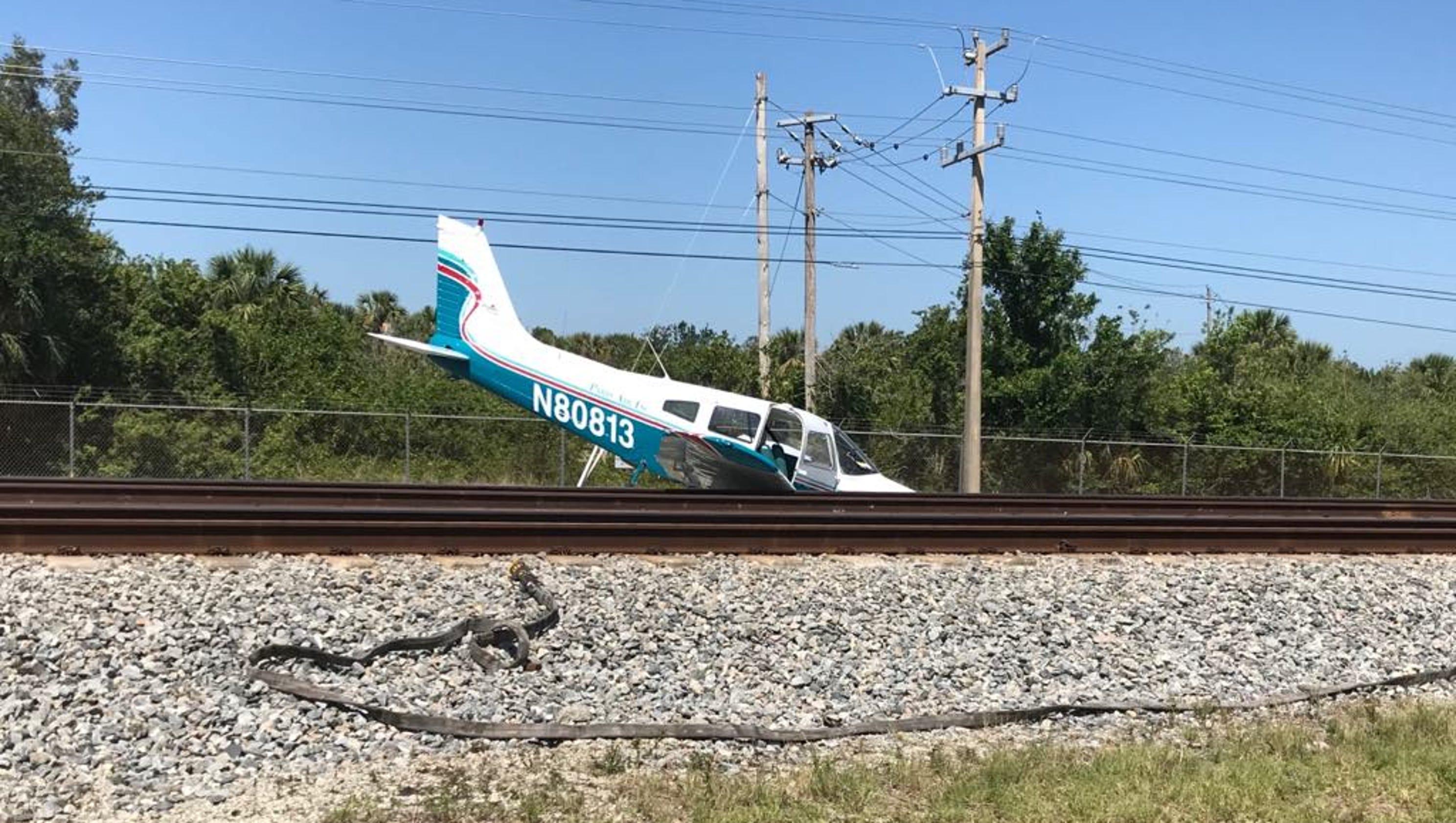 Plane Crash Beach Florida