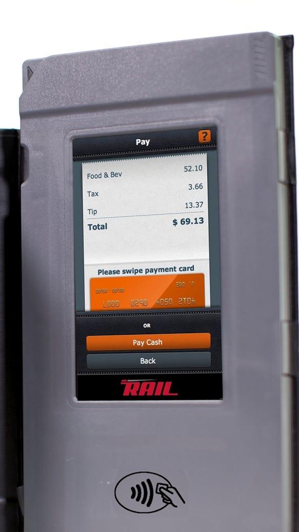 RAIL touchscreen
