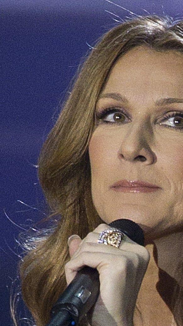 Celine Dion opening Caesar's