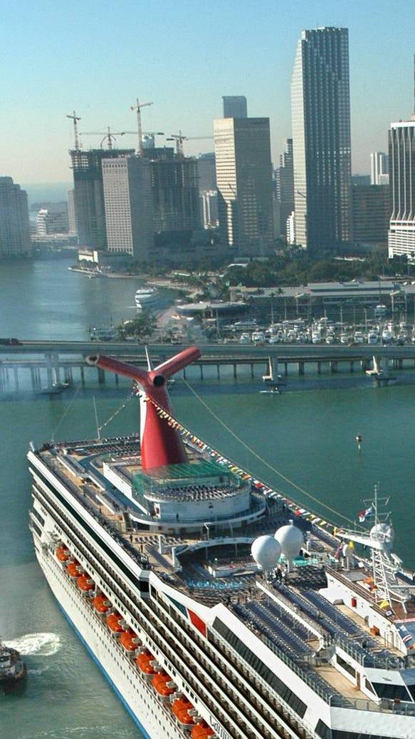 Carnival Opens Checkin Option At Miami Airport - Miami cruise