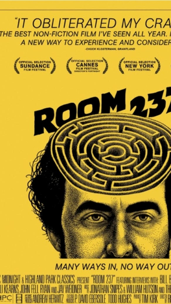 So you\'ve seen \'Room 237.\' Now what?