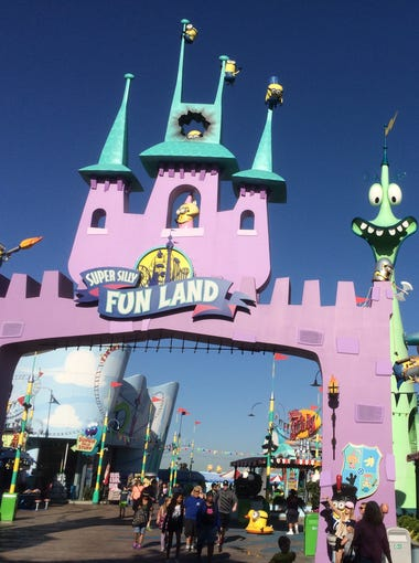 Super Silly Fun Land, an experience only available at Universal Studios Hollywood.