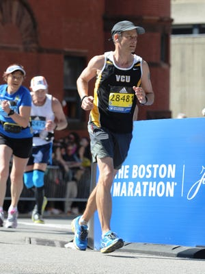Jim Williams has run the Boston Marathon five times and is planning on making it six this April.