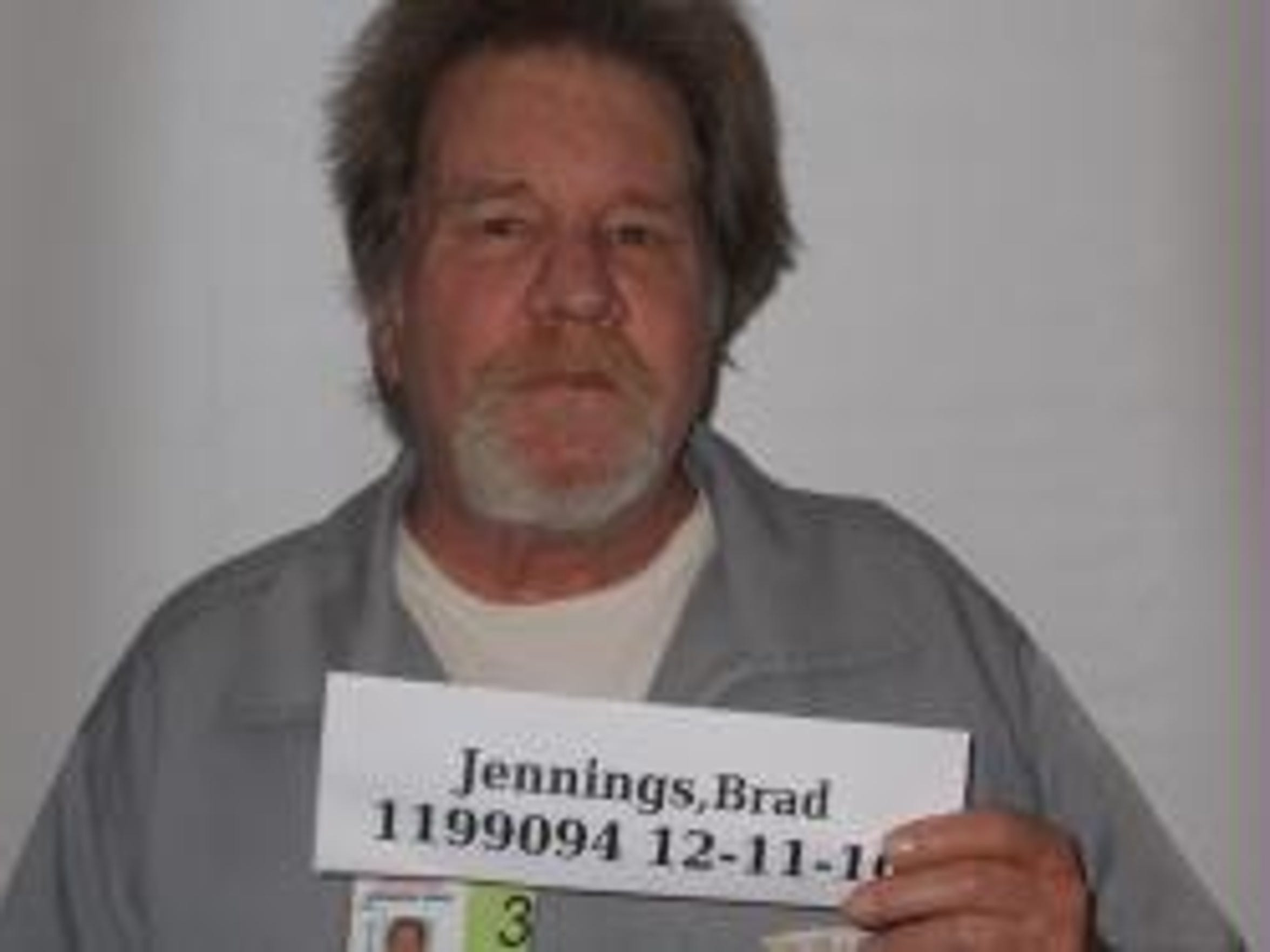 Brad Jennings was arrested in 2007 and has been in
