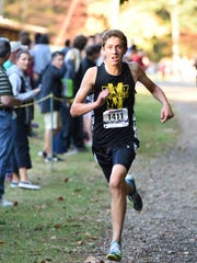 West Milford junior Joey Cummings finished third overall in the Big North-Independence meet.