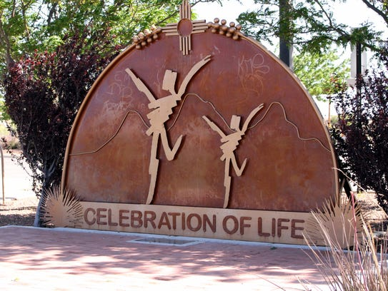 The Celebration of Life Memorial at Voiers Park is