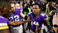 Sportsbook official says rough second half affected Vikings' opening line in NFC Championship Game against the Philadelphia Eagles.