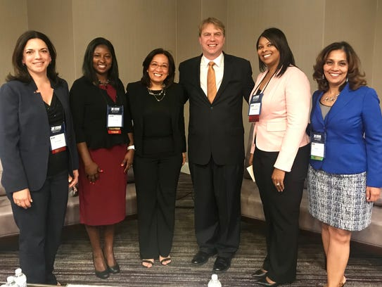 Panelists at ISM-NJ's Supplier Diversity Night were