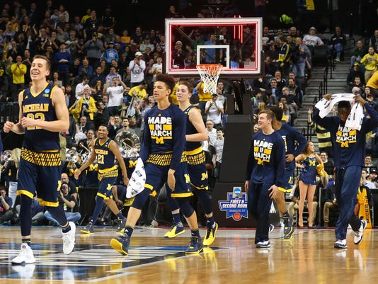 NCAA Basketball: NCAA Tournament-First Round-Notre Dame vs Michigan