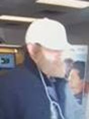 Suspect in a Friday bank robbery