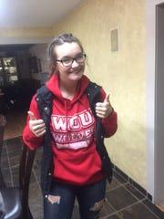 Elizabeth Hoke was to attend Western Oregon University in the fall of 2017.