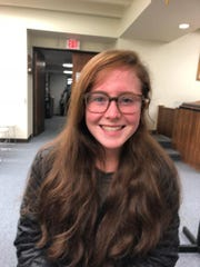 Kyla Hunter, a Mountain Lakes High School Junior who is a member of the Borough's Environmental Commission.