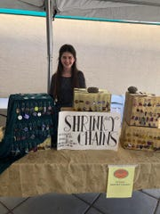 Arabella Camunez and her business Shrinky Chains.