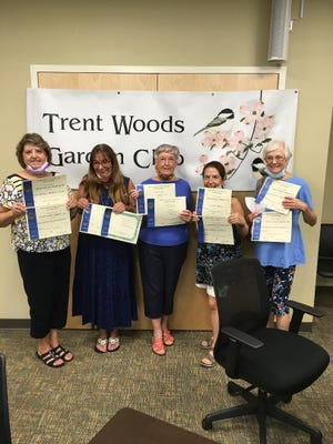 Pictured are members of the Trent Woods Garden Club.