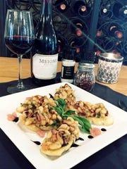 White bean bruschetta is a new dish at Gino's Trattoria on Marco Island.