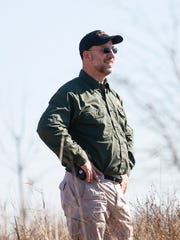 Carl Bonnell, manager of Table Rock State Park, looks