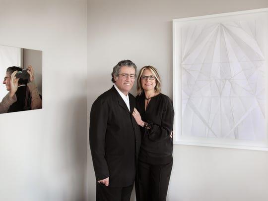 Maggazino founders Nancy Olnick & Giorgio Spanu Garrison,