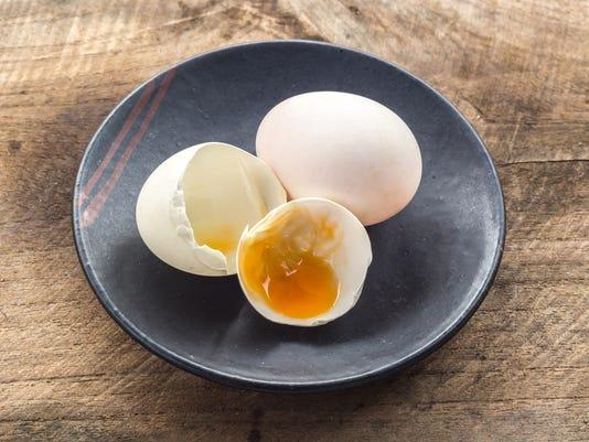 broken white eggshell