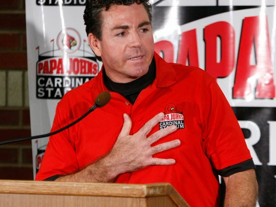 Image result for john schnatter papa johns