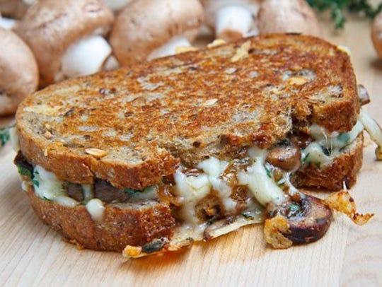 Merv's Mushroom Melt.