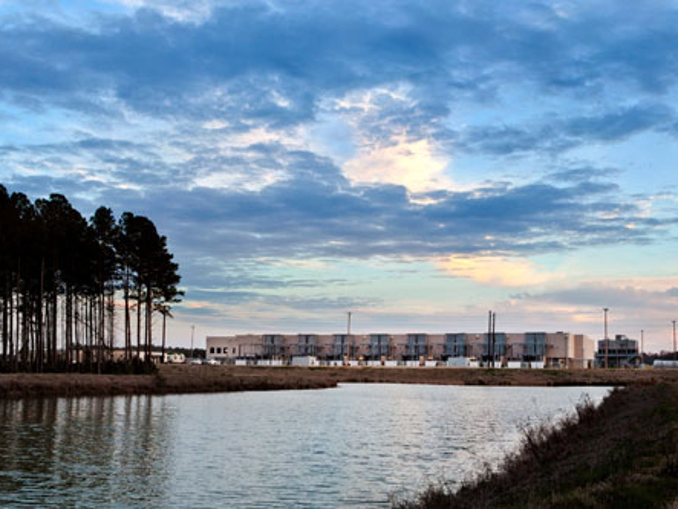 Google data center in Berkeley County, S.C.