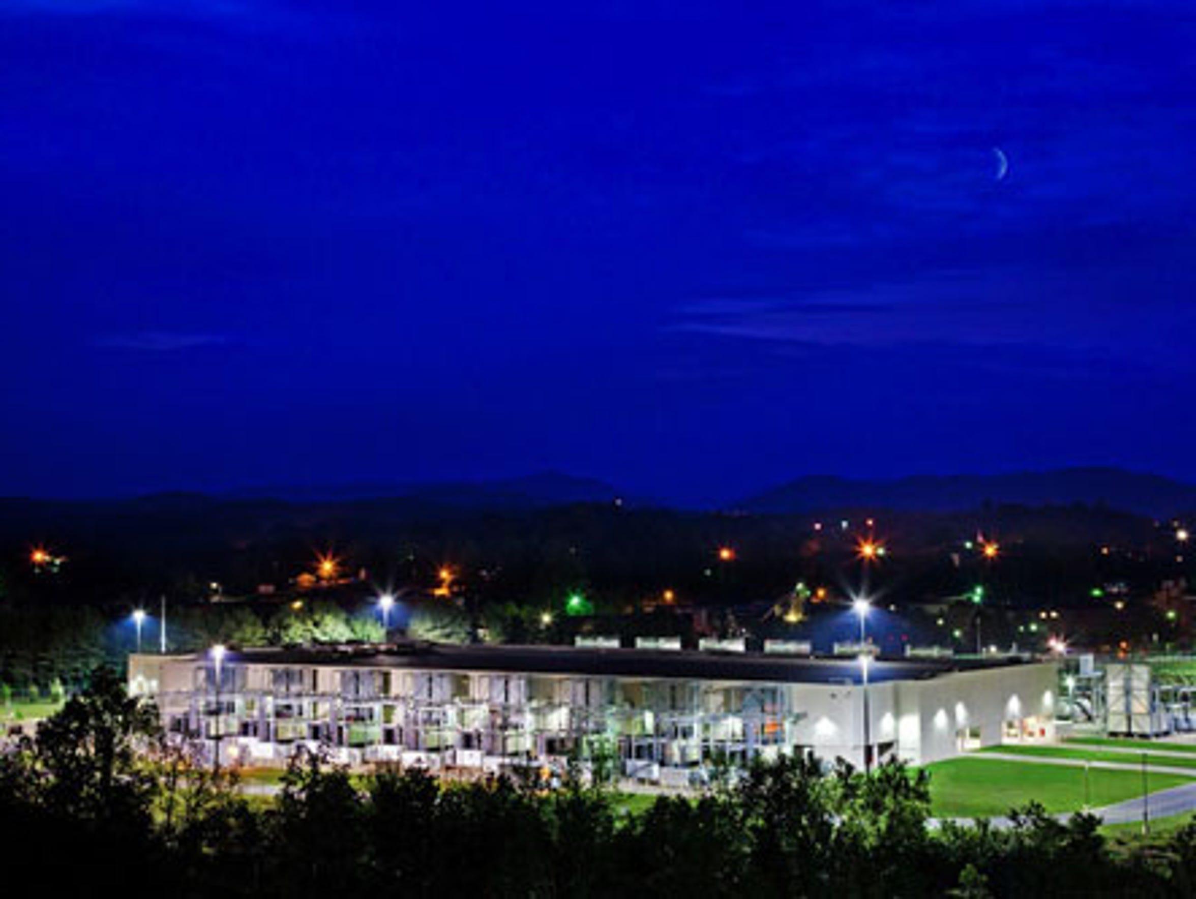 Google data center in Lenoir, N.C.