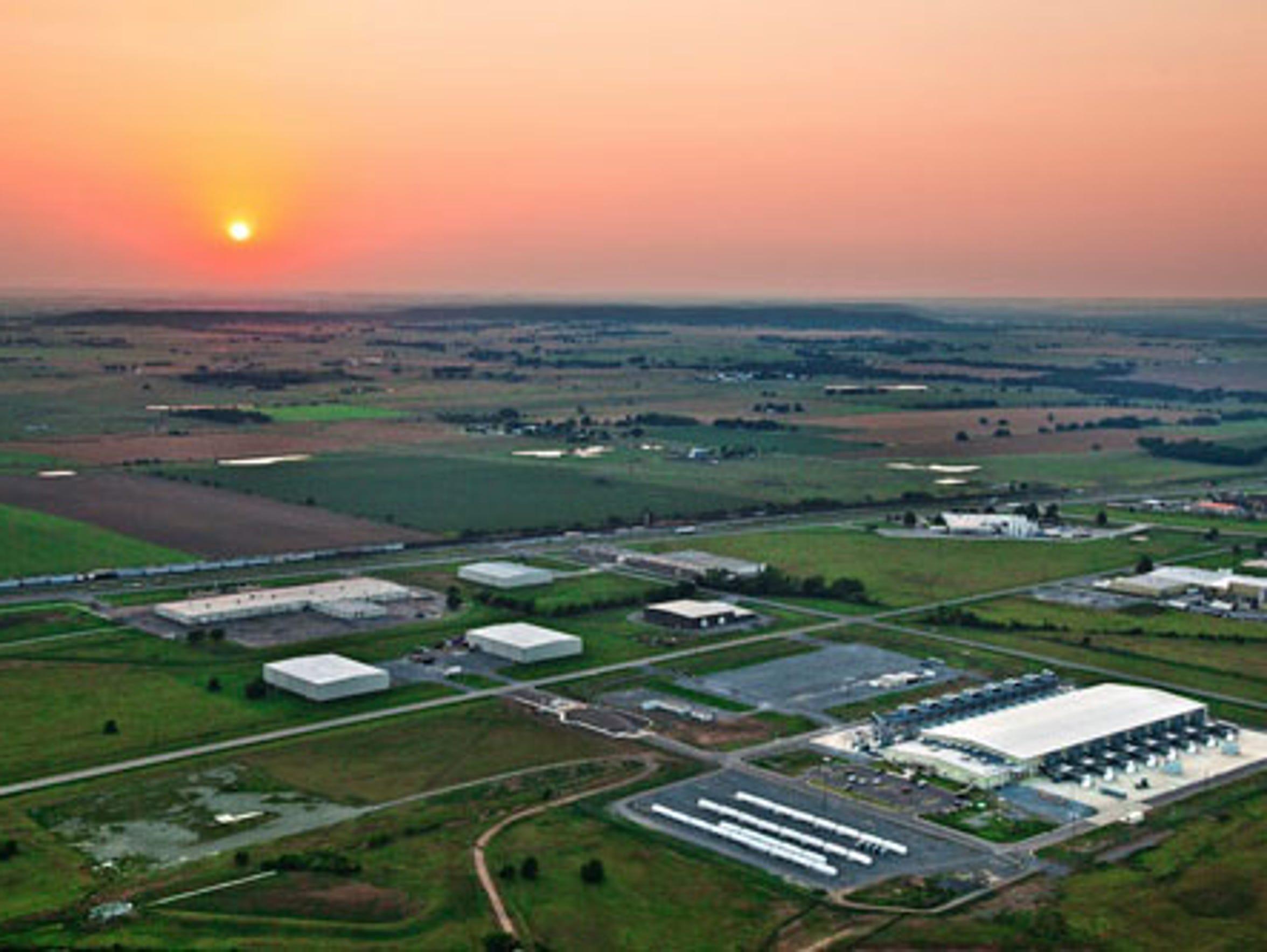 Google data center in Mayes County, Okla.