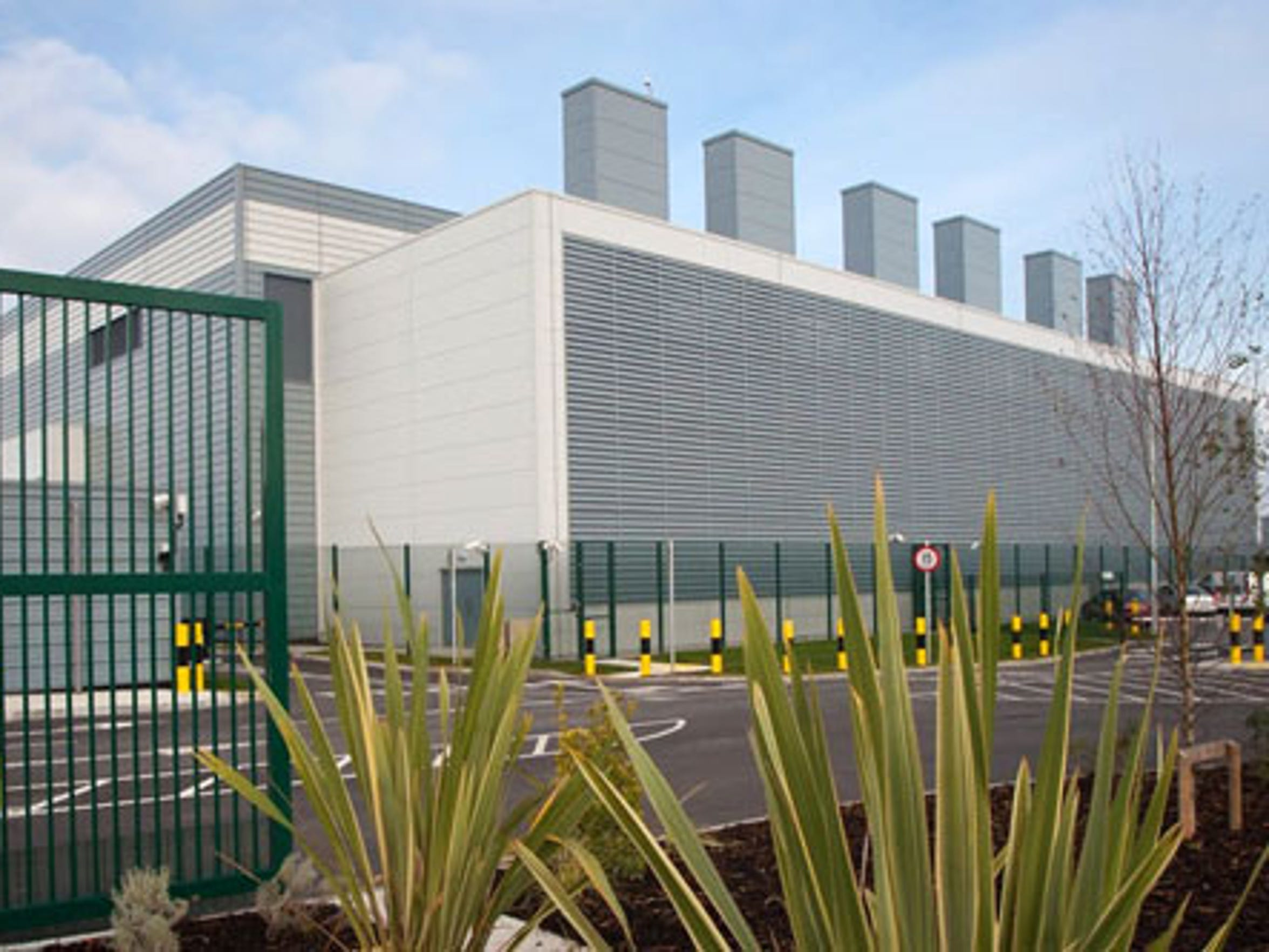 Google data center in Dublin