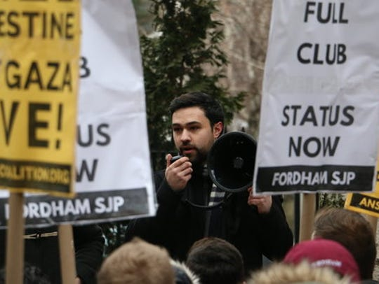 Ahmad Awad of Wayne sued Fordham University for refusing