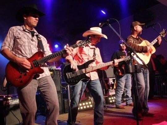Five Card Draw performs at Brewster Street Ice House