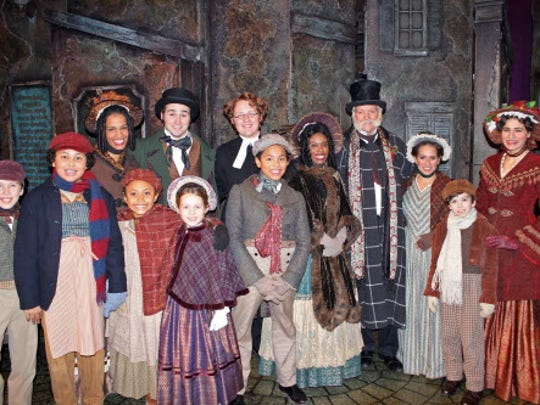 """The Milwaukee Rep is putting on """"A Christmas Carol"""" at the Pabst Theater again this year."""