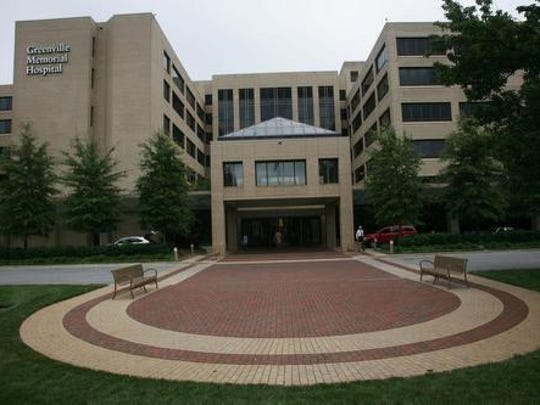 Greenville Memorial Hospital is one of many health care centers in Greenville