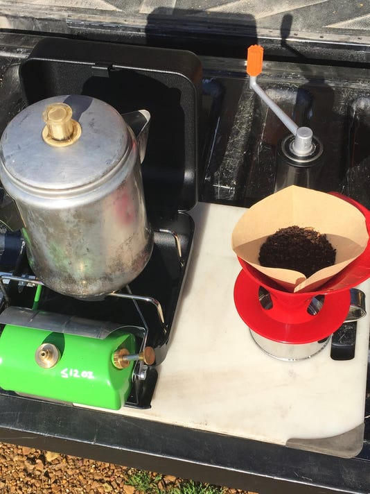 Camp cooking: How to make a great cup of coffee