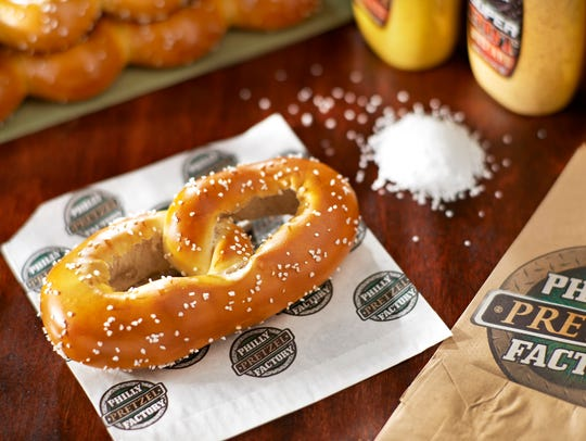 Philly Pretzel Factory plans as many as six new stores in the Upstate within the next three years.