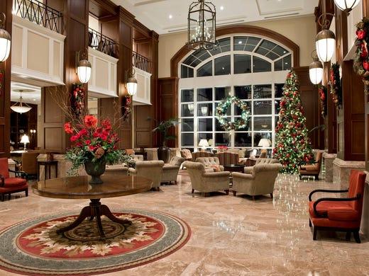 Holiday Hotel Lobbies
