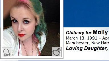 Molly Alice Parks, 24, who resided in Manchester, N.H., died April 16, 2015.