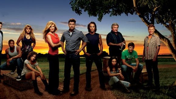 "The cast of ""Friday Night Lights."""