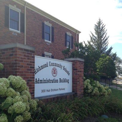 Richmond Community Schools administration office