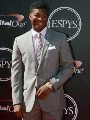 Florida State quarterback Jameis Winston at the 2014 ESPY Awards.