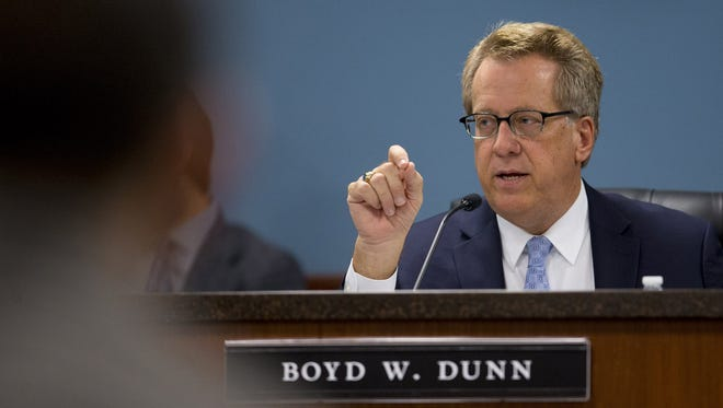 Arizona Corporation Commission member Boyd Dunn