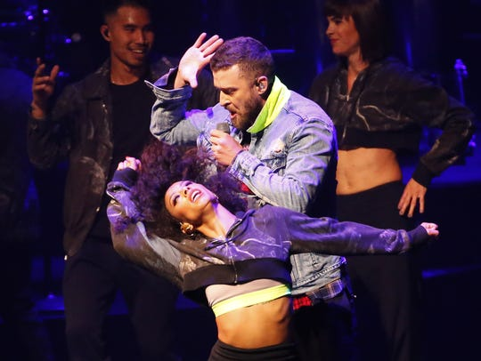 Justin Timberlake performs at Talking Stick Resort