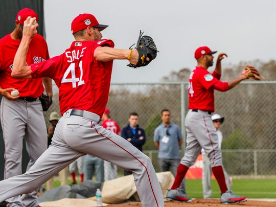 Red Sox Pitchers and catchers began practice at JetBlue Park, Fenway South, Tuesday morning. Former FGCU pitcher, Chris Sale, is now with the Red Sox and excited for the season.