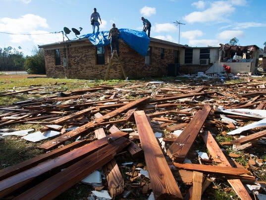 Century Storm Damage Day 2