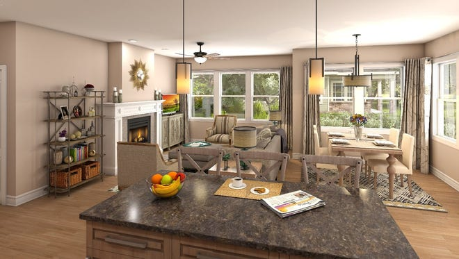 Retirees find a worry-free lifestyle at Capital Manor.