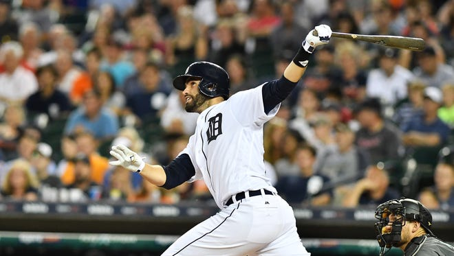 The Tigers won't be able to sign J.D. Martinez to a long-term contract, so it's likely Detroit will trade him at the deadline.